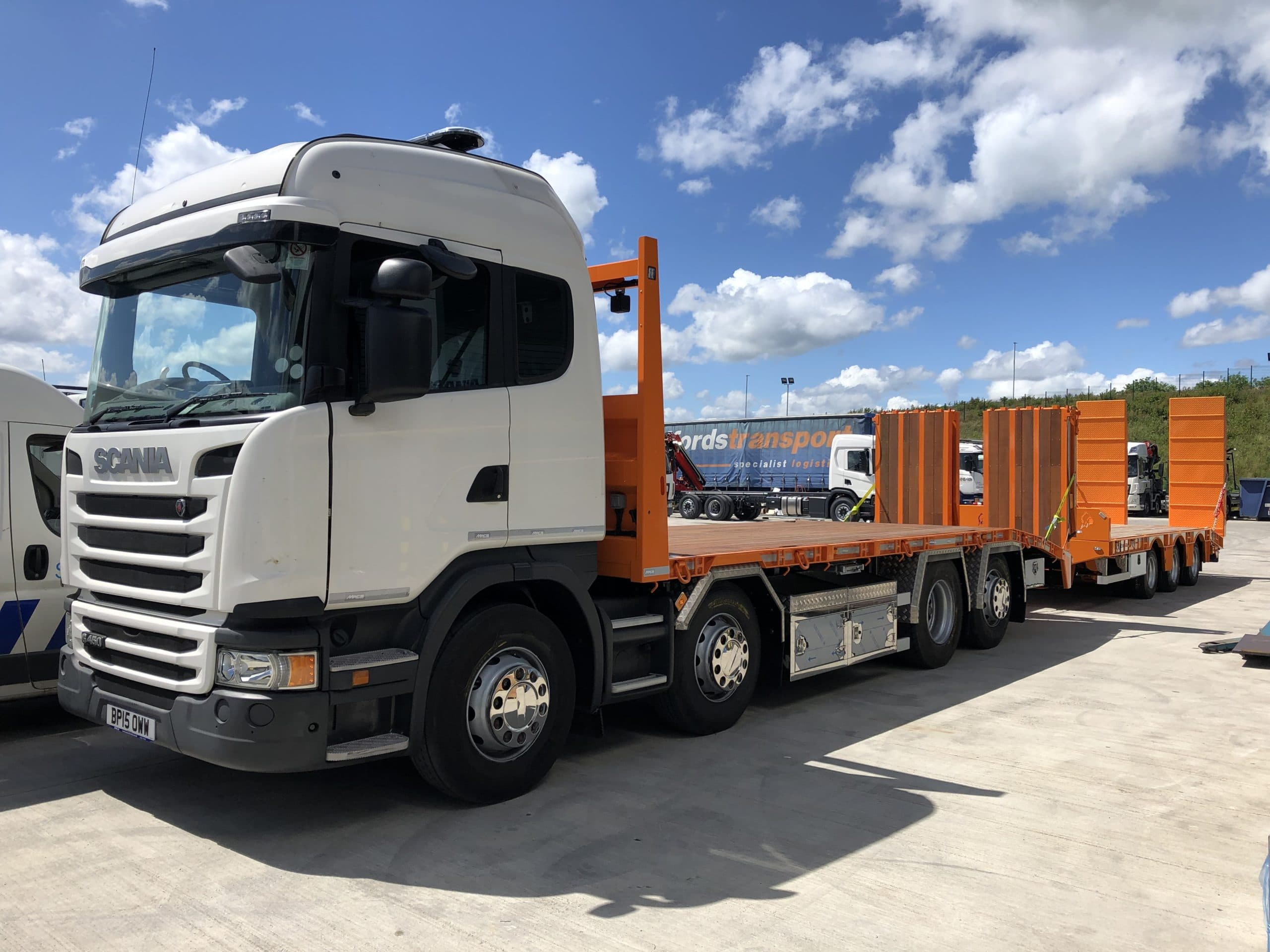 Scania (2015) R450 (Sleeper) 8 x 2 Rigid Beavertail - Mac's Trucks in